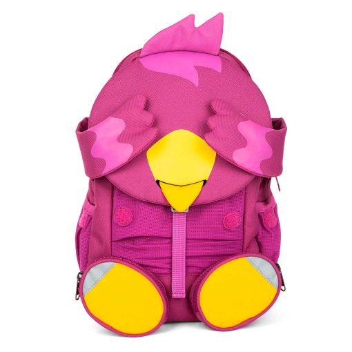 Affenzahn børnevenlig rygsæk med god støtte og flere rum Viola Fugl