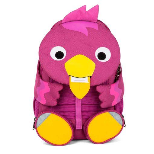Affenzahn god rygsæk til børn med navneskilt Viola Fugl