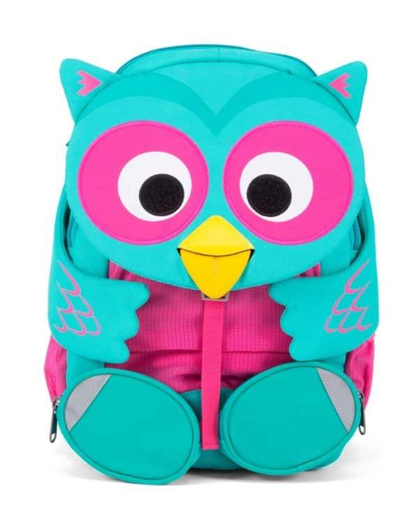 Affenzahn Oline ugle god rygsæk til børn