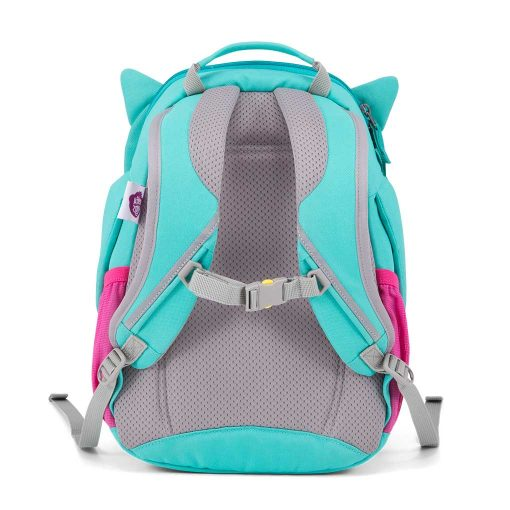 Affenzahn Oline ugle god rygsæk til børn med polstret ryg