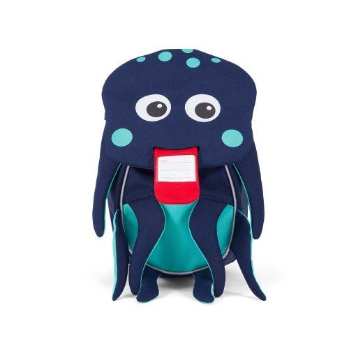 Affenzahn Oliver Blæksprutte lille rygsæk med navneskilt