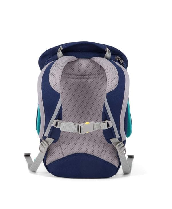 Affenzahn Oliver Blæksprutte lille taske med polstret ryg