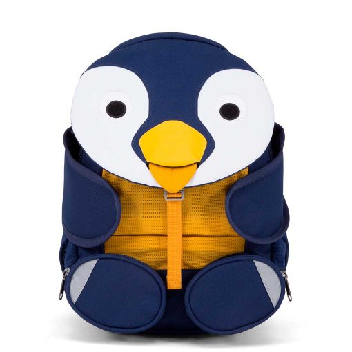 Affenzahn Polly pingvin børnevenlig rygsæk med flere rum