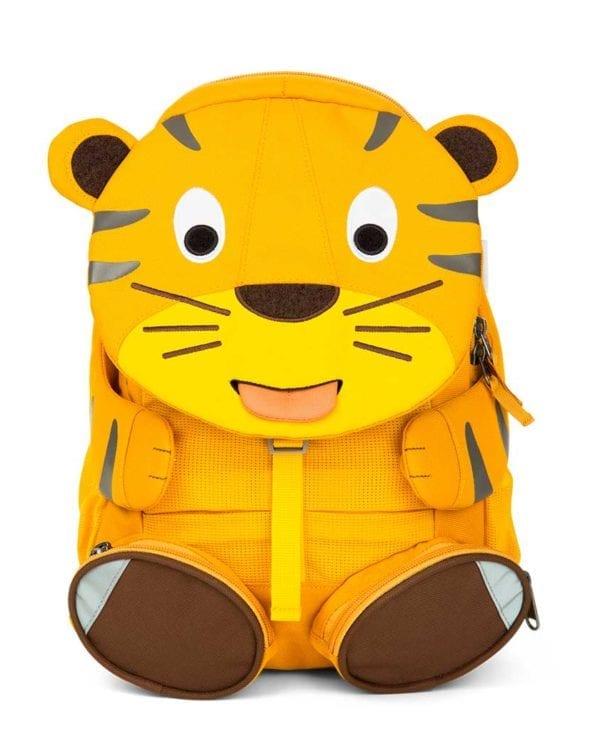 Affenzahn børnevenlig rygsæk med flere rum Theo Tiger