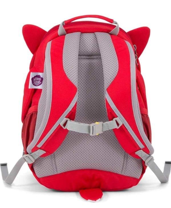 Affenzahn god rygsæk til børn fox polstret ryg