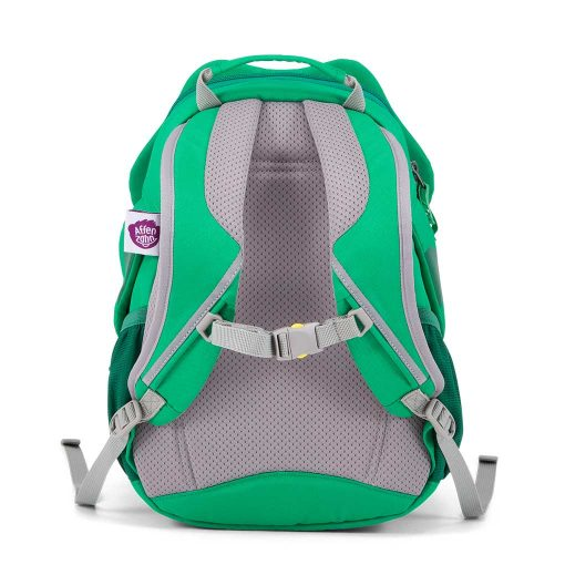 Affenzahn god rygsæk til børn med polstret ryg Fabian Frog
