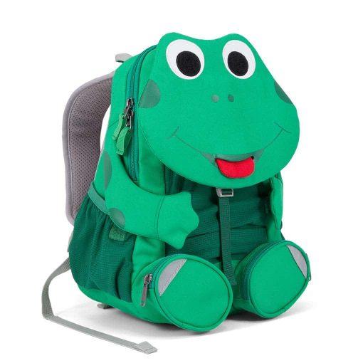 Affenzahn god rygsæk til børn på farten Fabian Frog