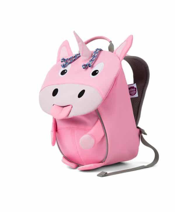 Affenzahn lille rygsæk med god støtte til børn unicorn