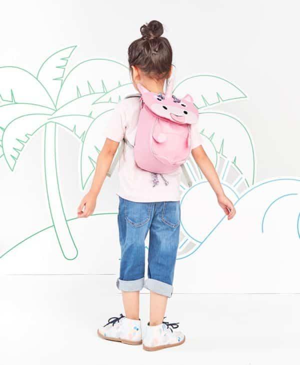 Affenzahn lille rygsæk med god støtte unicorn
