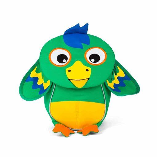 Affenzahn lille rygsæk til de mindste - papegøje