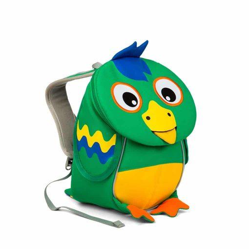 Affenzahn lille rygsæk-til vuggestue med-papegøje