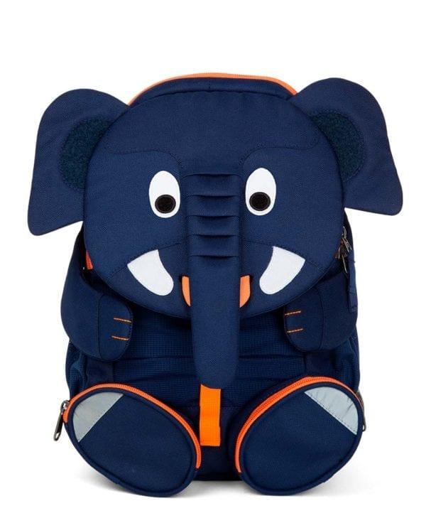 Affenzahn rygsæk perfekt til børn med navneskilt elefant