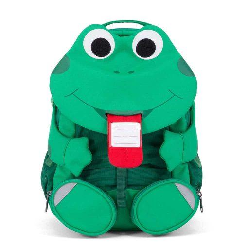 Affenzahn rygsæk til børn - med navneskilt Fabian Frog