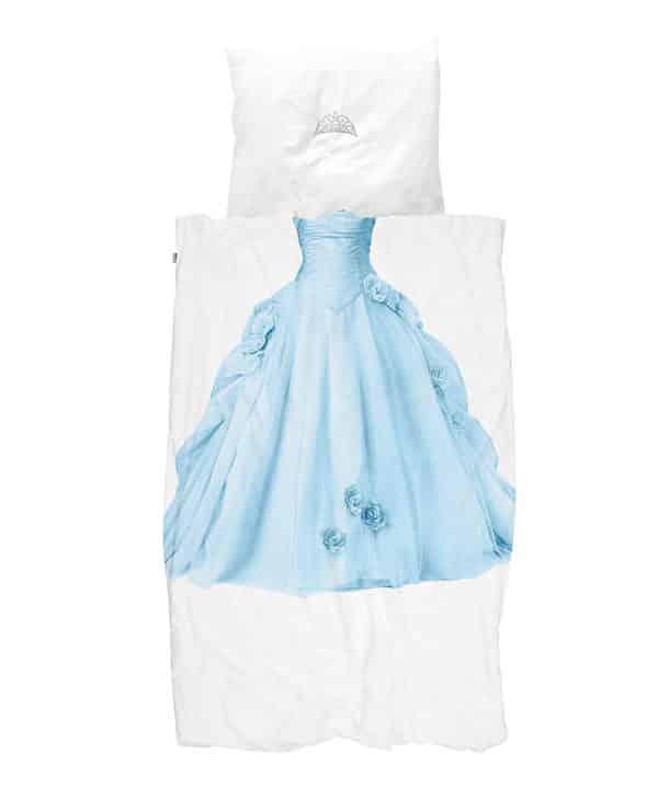 Snurk sengetøj blå prinsesse