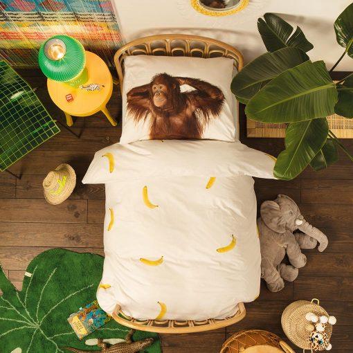 Snurk sengetøj junior - orangutang