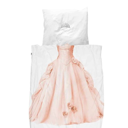 Snurk sengetøj junior - prinsesse pink
