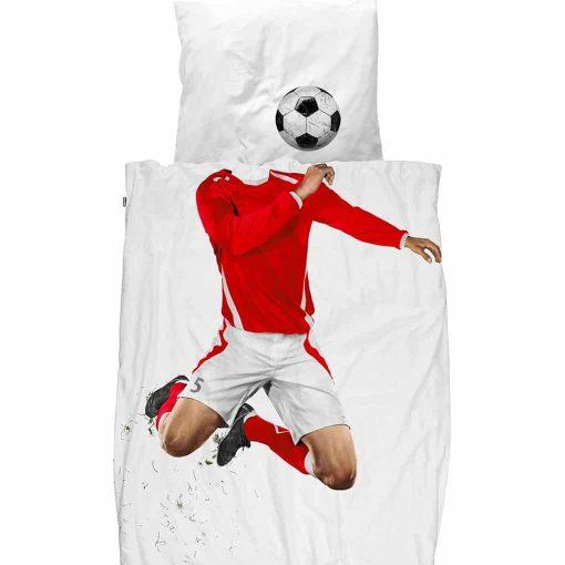 Snurk sengetøj junior - fodboldspiller