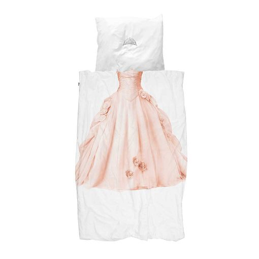 Snurk sengetøj lyserød prinsesse