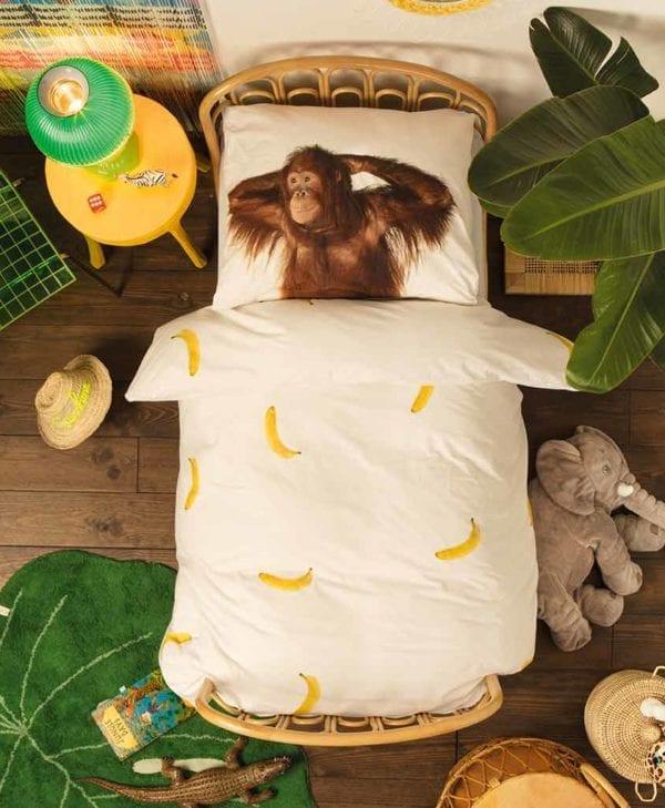 Snurk sengetøj monkey banana