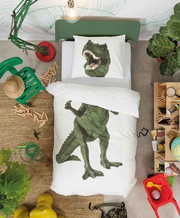 Snurk sengetøj sej dinosaur