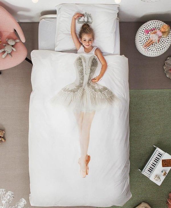 Snurk sengetøj - med barn 2 - ballerina