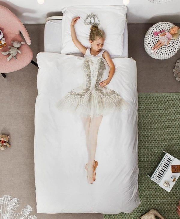 Snurk sengetøj - med barn - ballerina
