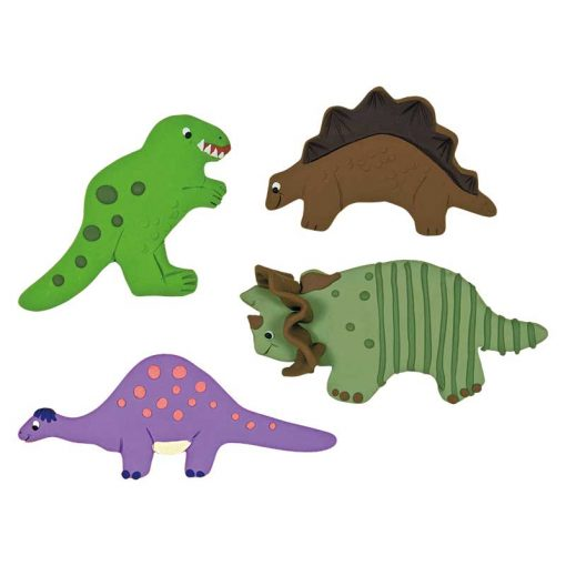 Kageudstikkere Städter - 4 stk. dinosaur