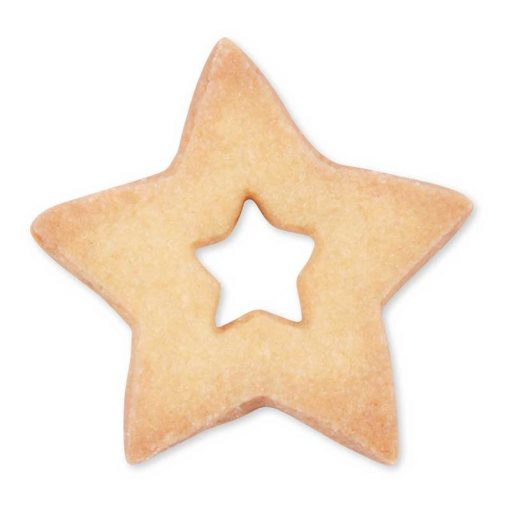 Kageudstikker Städter - 1 stk. stjerne - uden glasur