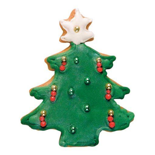 Kageudstikker Städter - 1 stk. juletræ - med pynt