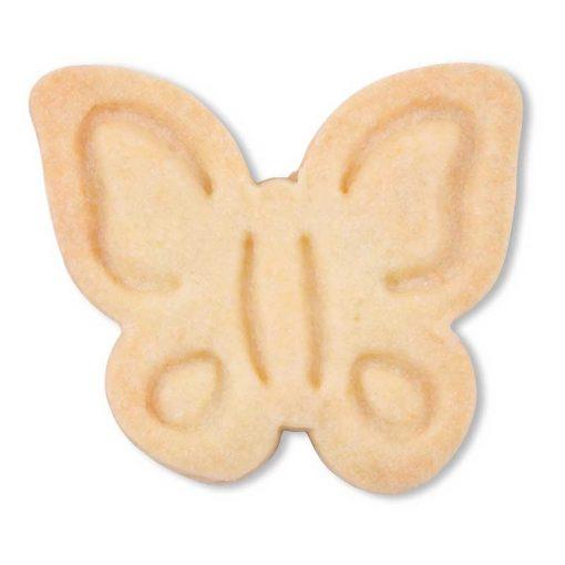 Stempeludstikker Städter - 1 stk. sommerfugl - uden glasur