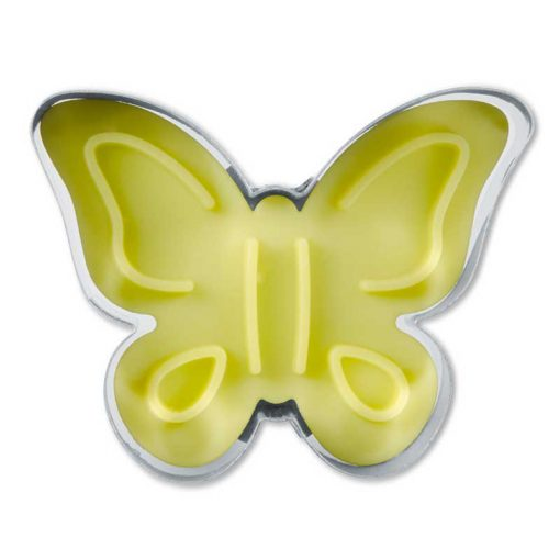 Stempeludstikker Städter - 1 stk. sommerfugl - fra bunden