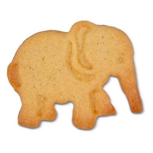 Stempeludstikker Städter - 1 stk. elefant - uden glasur