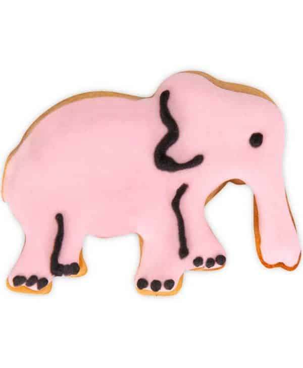 Stempeludstikker Städter - 1 stk. elefant