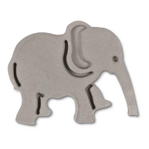 Stempeludstikker Städter - 1 stk. elefant - grå