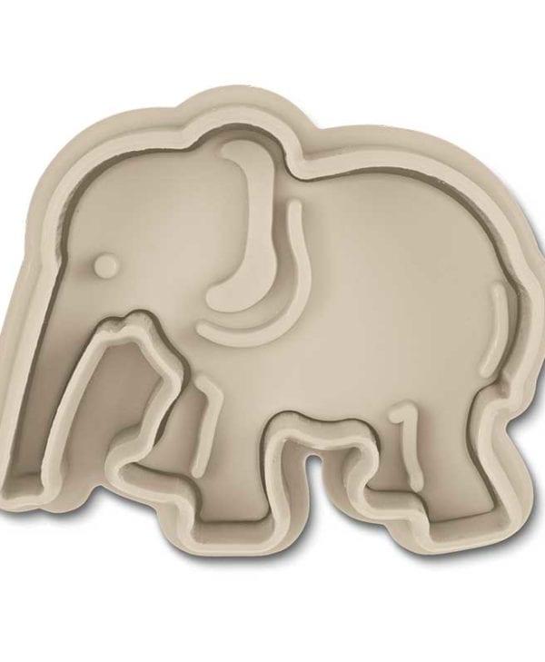 Stempeludstikker Städter - 1 stk. elefant - fra bunden