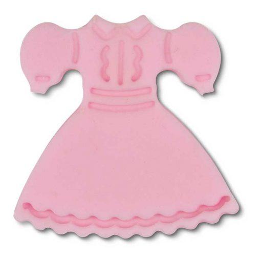 Stempeludstikker Städter - 1 stk. kjole - lyserød