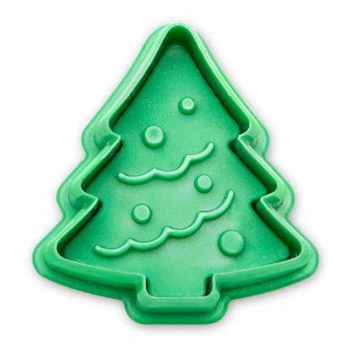 Stempeludstikker Städter - 1 stk. juletræ - set fra bunden