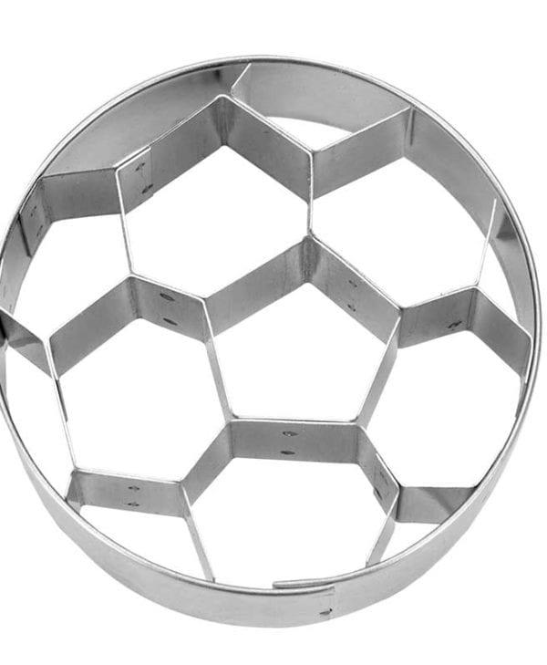 Kageudstikker Städter - 1 stk. fodbold - set fra top