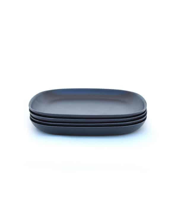 Ekobo Biobu lille tallerken sort