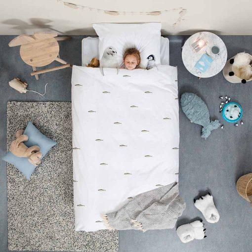 Snurk sengetøj til børn polar venner