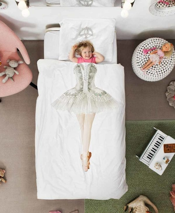 Snurk sengetøj ballarina junior