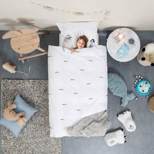 Snurk sengetøj junior polar
