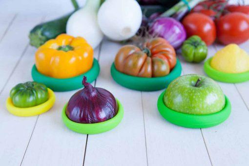 Food Huggers spar på plastik i køkkenet