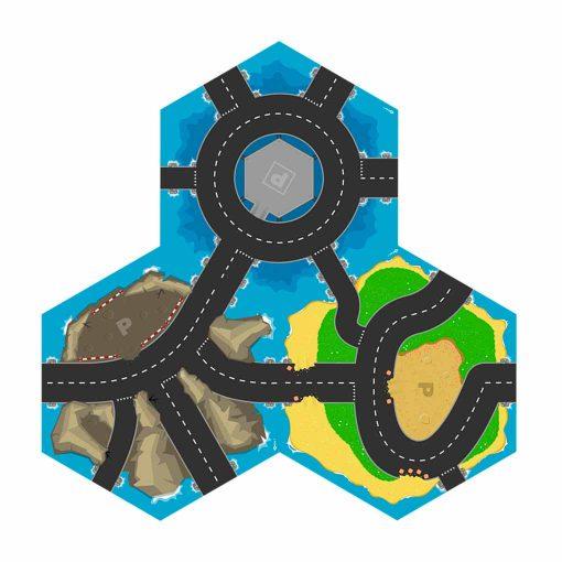 Gohexa Roads 1 legemåtter