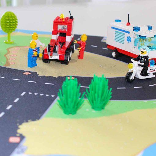 Gohexa legeunderlag til lego