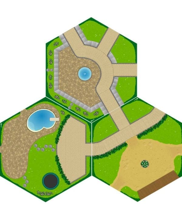 Gohexa legemåtter village 2