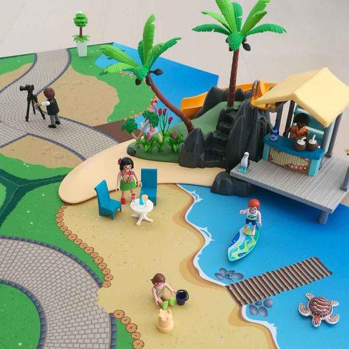 Legeunderlag til Playmobil Gohexa legemåtter