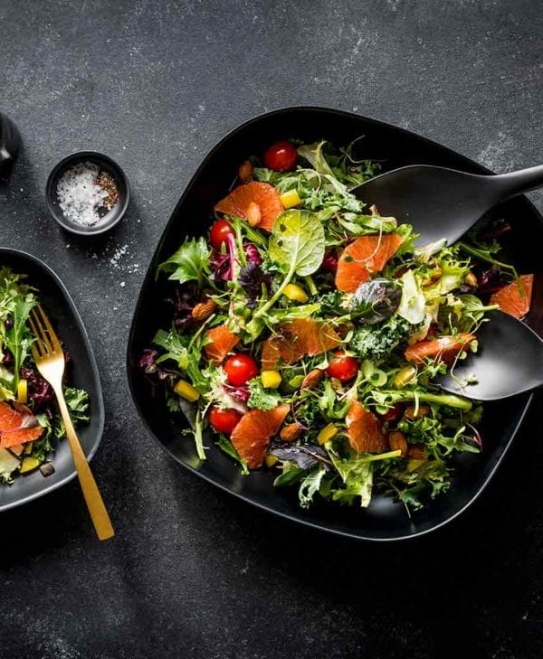 Ekobo salatskål i sort