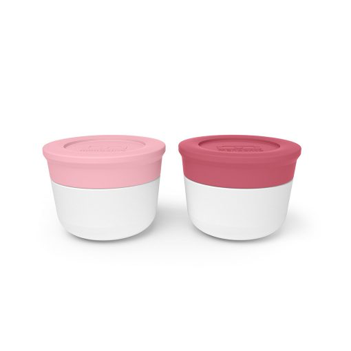 Monbento MB Temple S små bøtter til madpakken rosa og blush