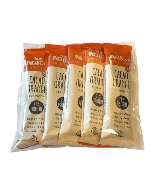 Creative Nature Cacao orange 5 stk snackbar